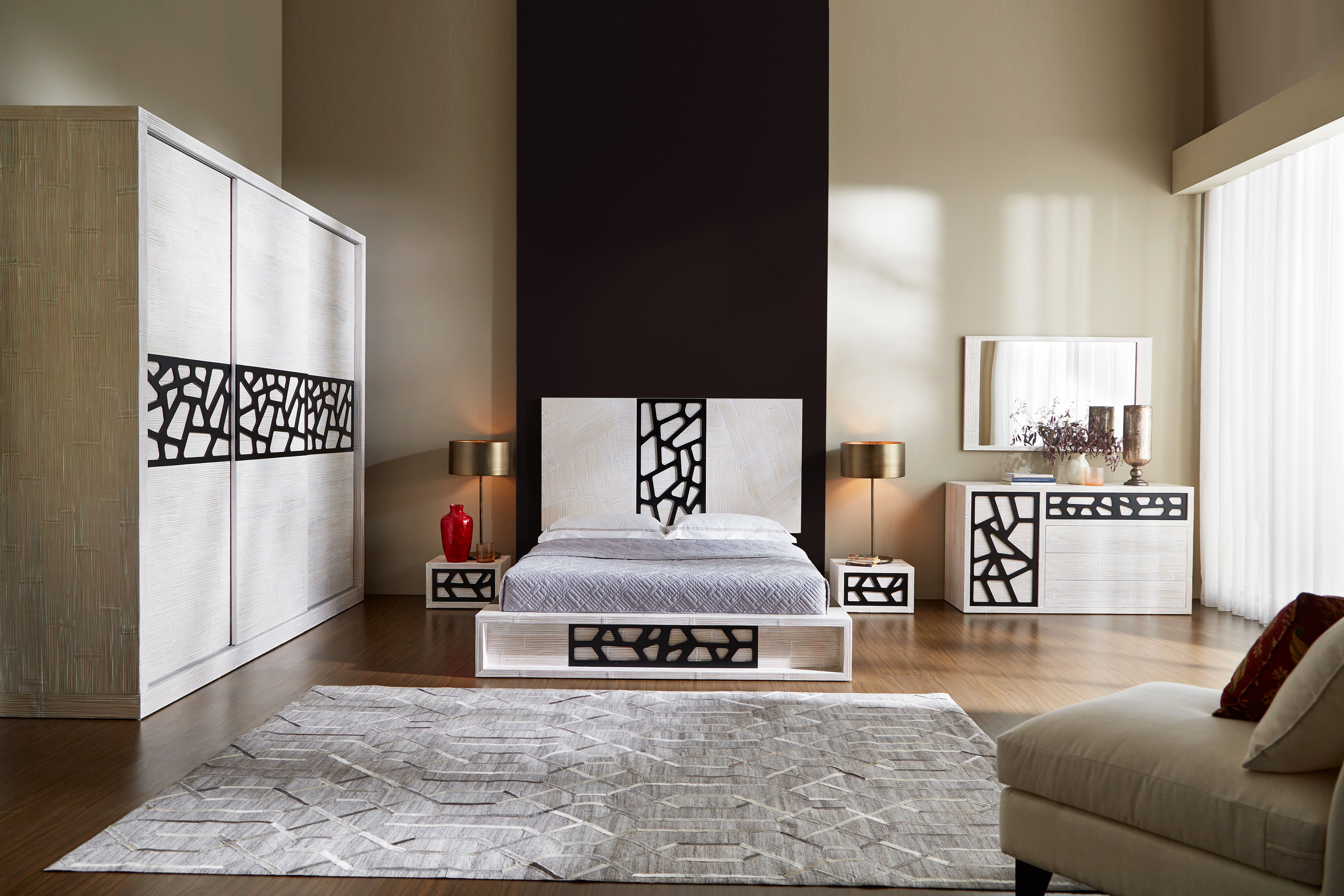 Letto in bamboo Contradiction